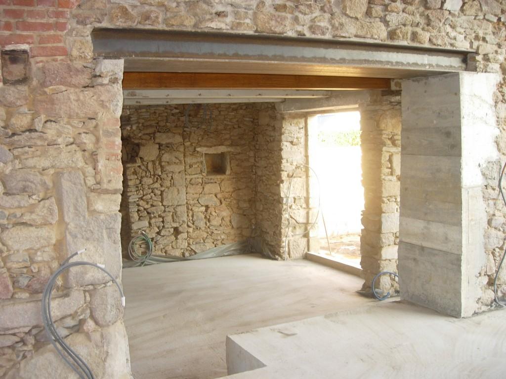 Prix Pour Casser Mur Porteur ouverture de mur en pierre, béton dans l'ardèche 07